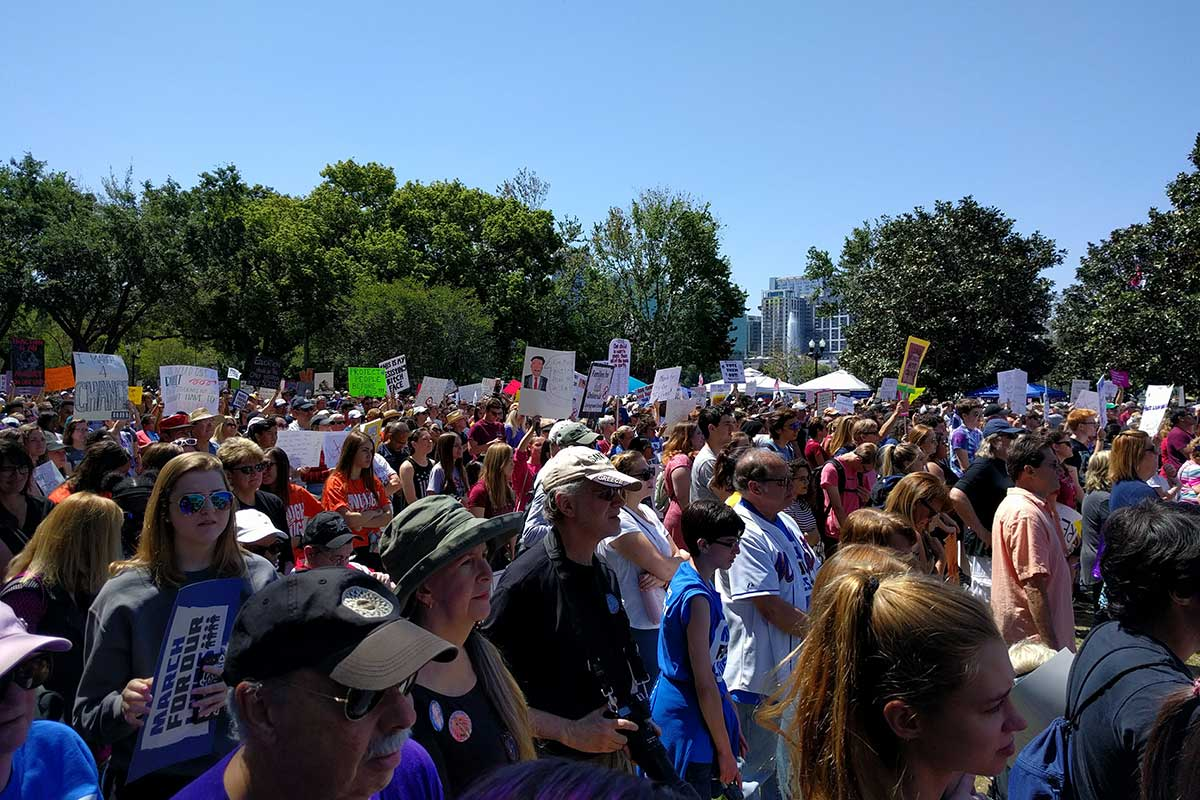 March for Our Lives Orlando 3/24/18