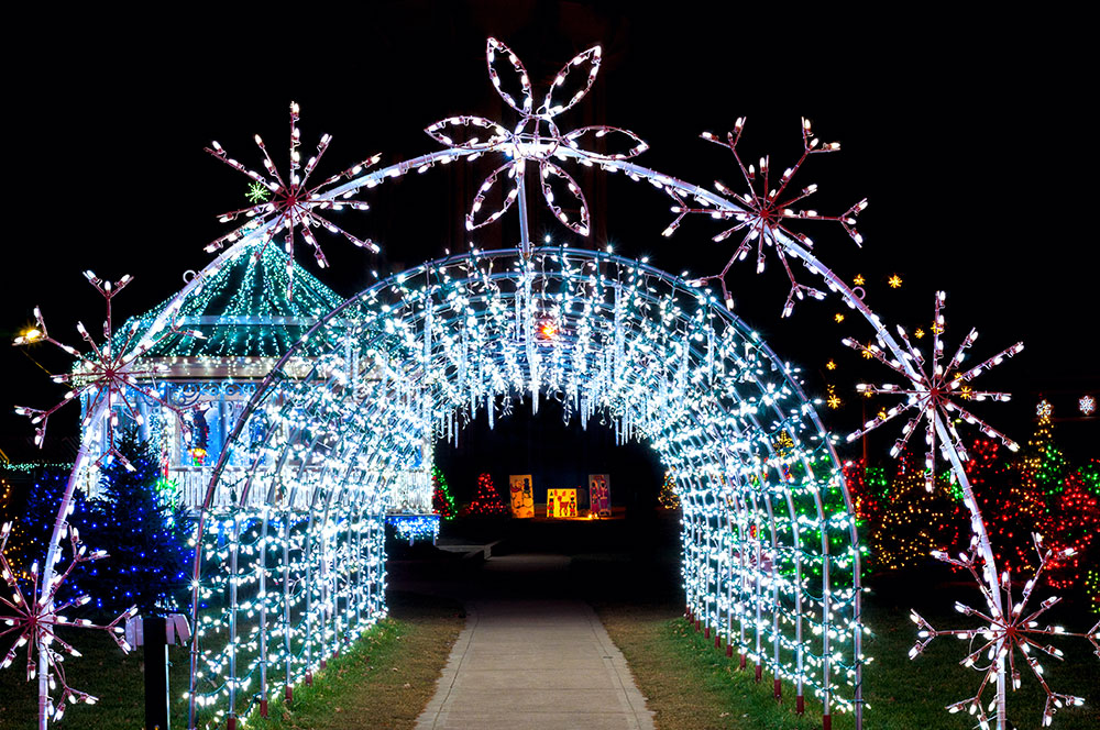 Florida Christmas Holiday Lights Drive Throughs