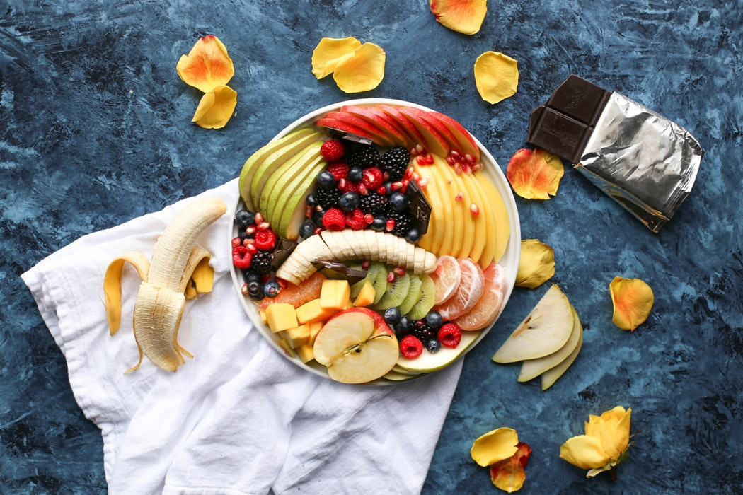 Fruit and cheese make the perfect snack!