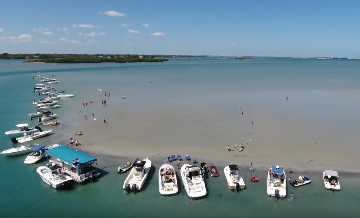 Stuart Sandbar on Florida's East Coast
