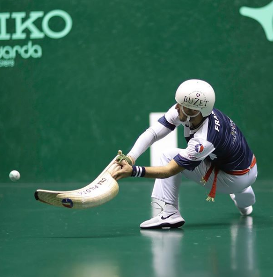 Jai Alai Player