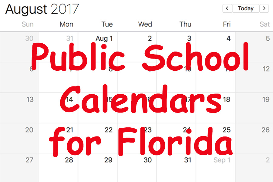 Florida Public School Calendars - All Districts Start Dates and More |  FloridaSmart