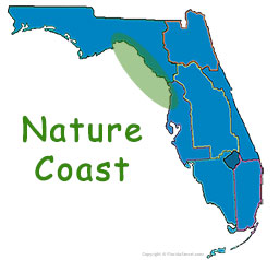 Florida's Nature Coast Map