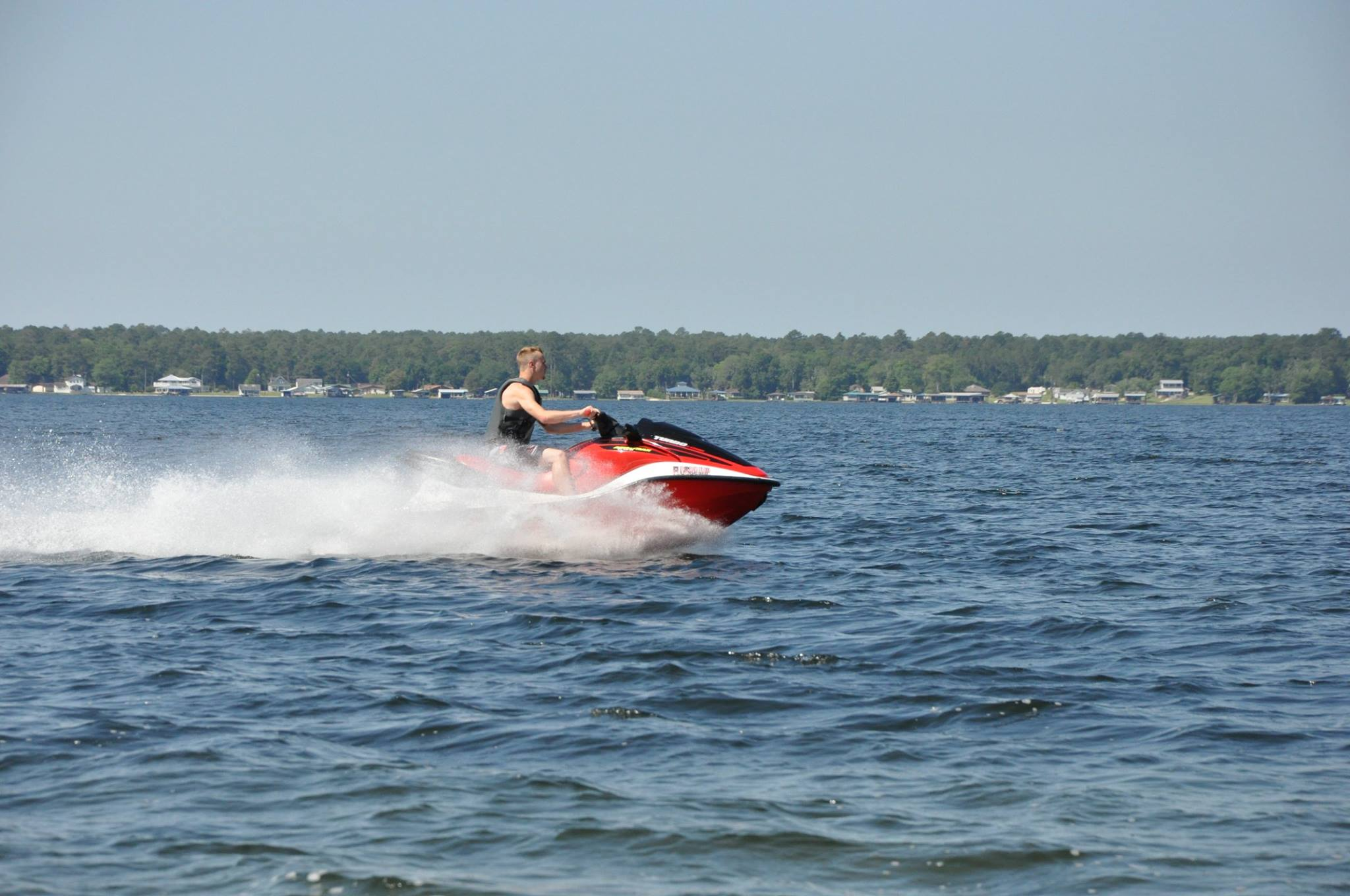Water Activities on Kingsley Lake