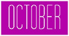 October Events & Festivals