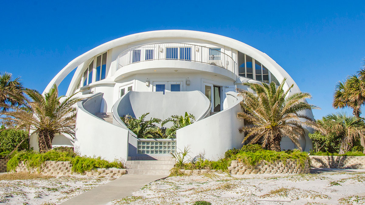 Dome of a Home, Pensacola Beach House