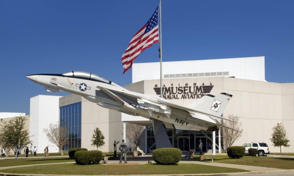 The National Naval Aviation Museum at NAS Pensacola.