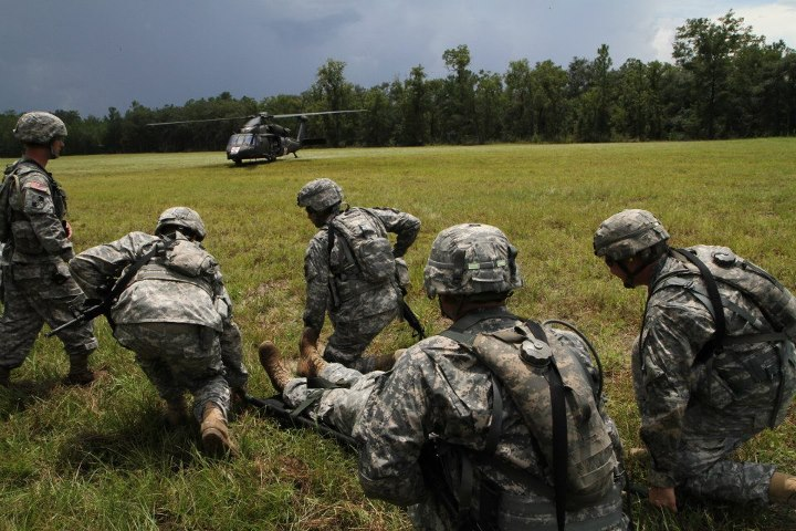 Troops Training at Camp Blanding JTC