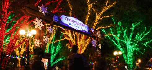 Florida smart guide to the most magical time of year - Busch gardens tampa christmas town ...