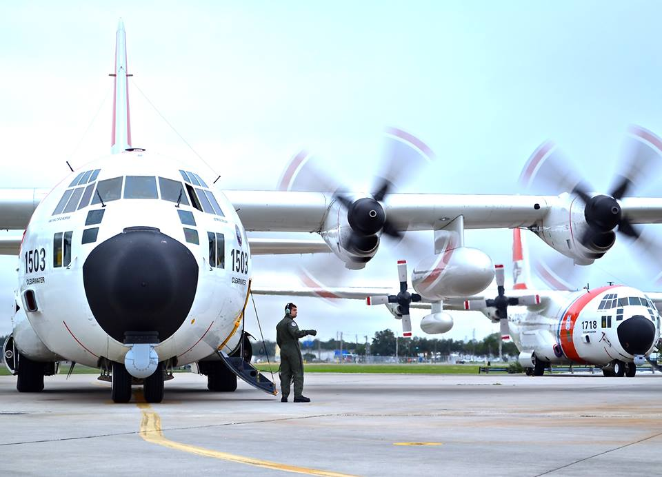 HC-130s at USCGAS Clearwater