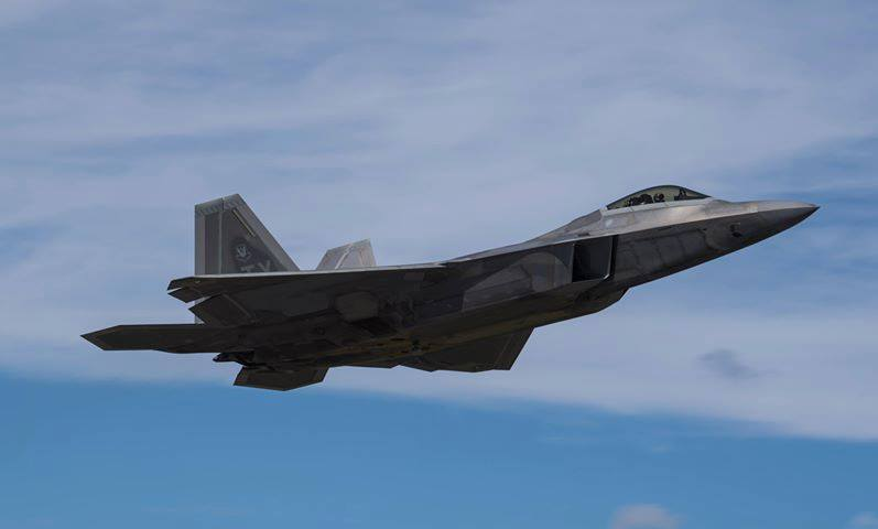 U.S.Air Force F-22A, Tyndall A.F.B.