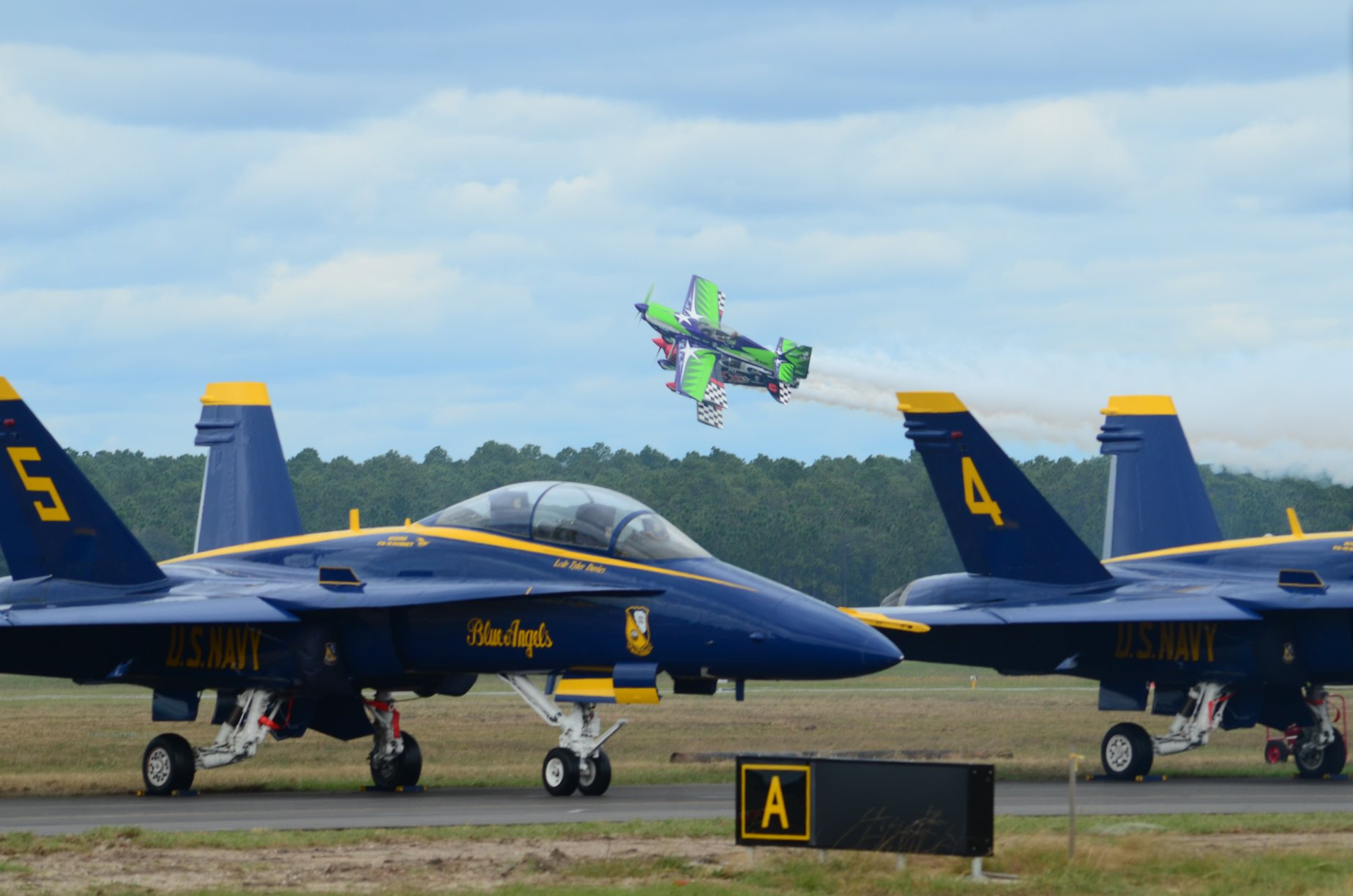 2016 Blue Angels Homecoming event at NAS Pensacola.