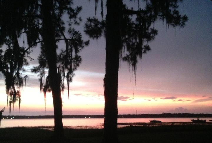 Camp Blanding Sunset on Kingsley Lake