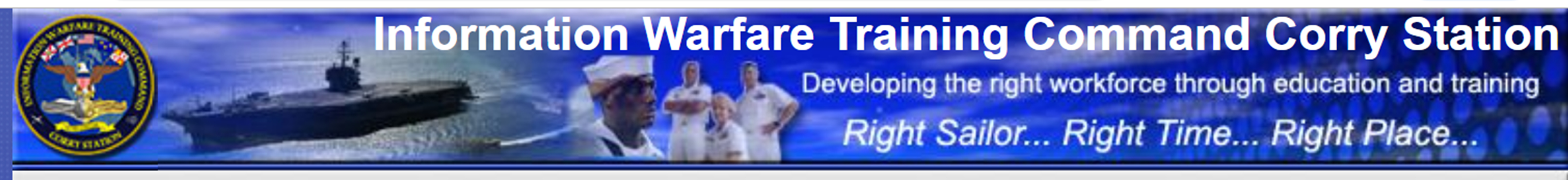 IWTC Corry Station web banner.