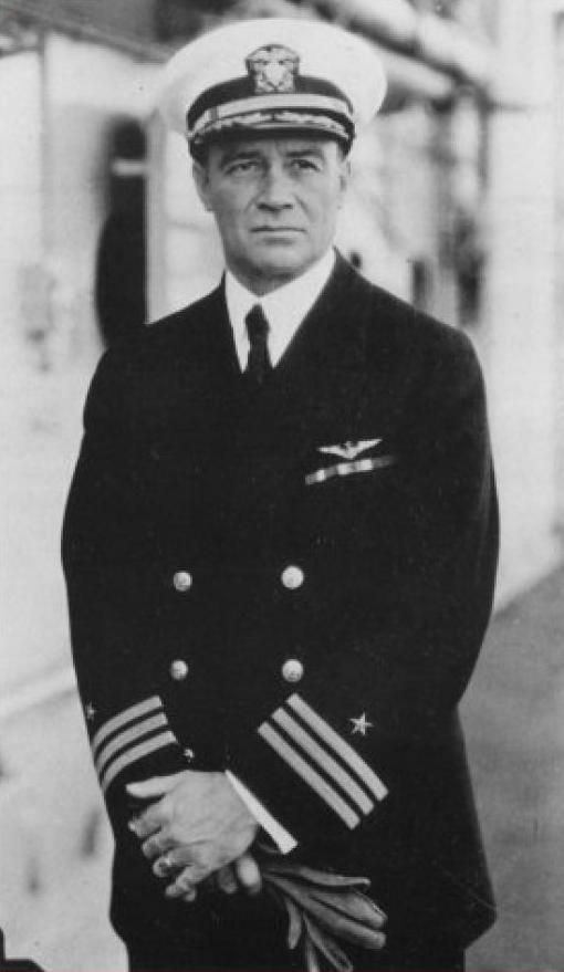 Navy Officer Kenneth Whiting