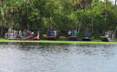 Switch Grass Outfitters & Airboat Tours' photo of different boats