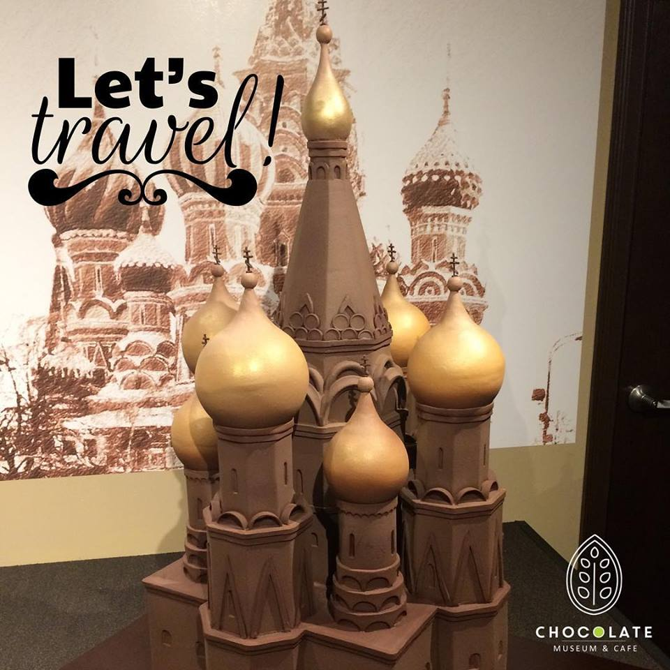 St. Basil's Cathedral Chococalte Sculpture