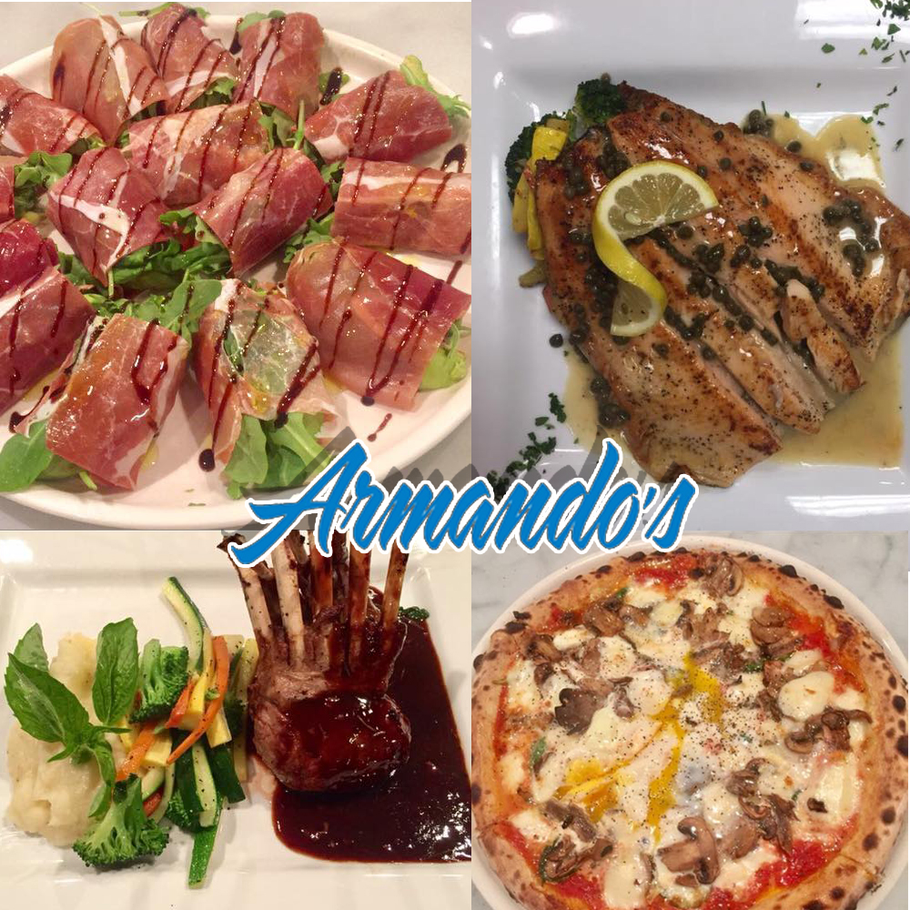 Various dishes of Armando's
