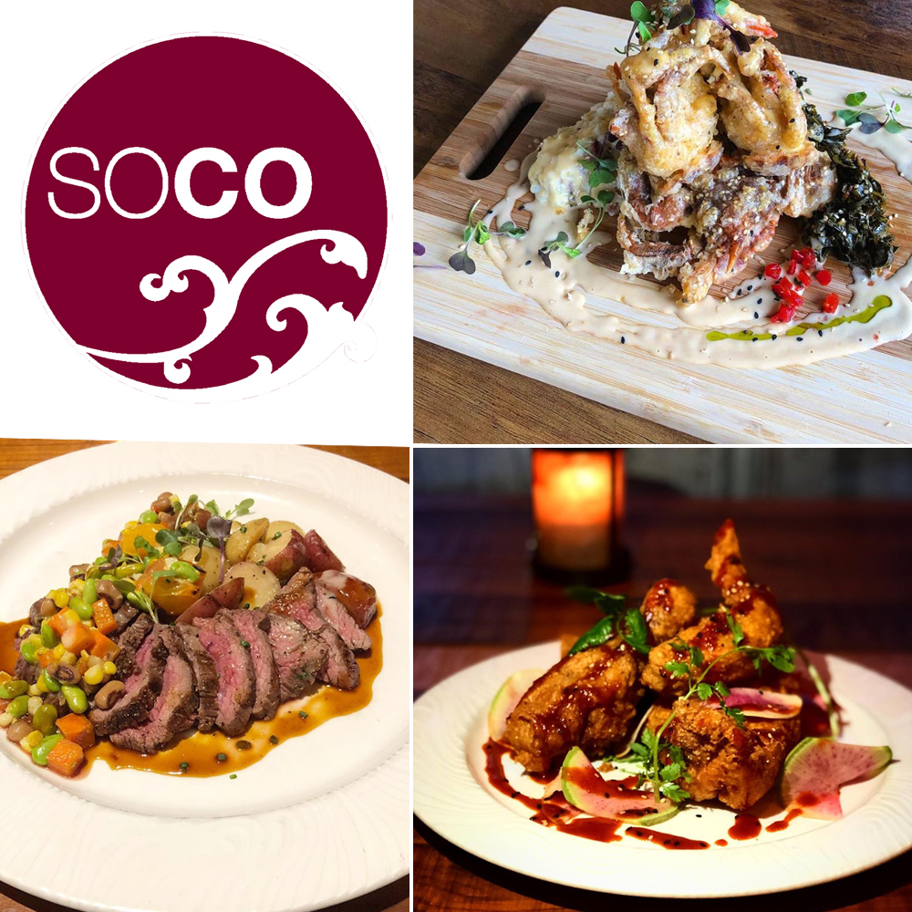 Various dishes by SOCO