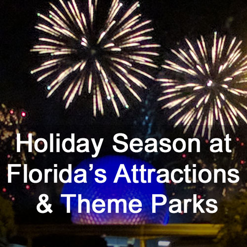 Florida Attractions at the Holidays