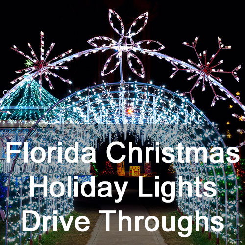 Light Display Drive Throughs in Florida