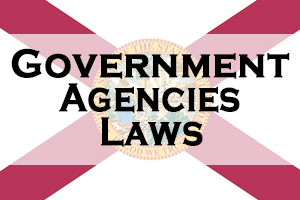Florida Government, Agencies & Laws