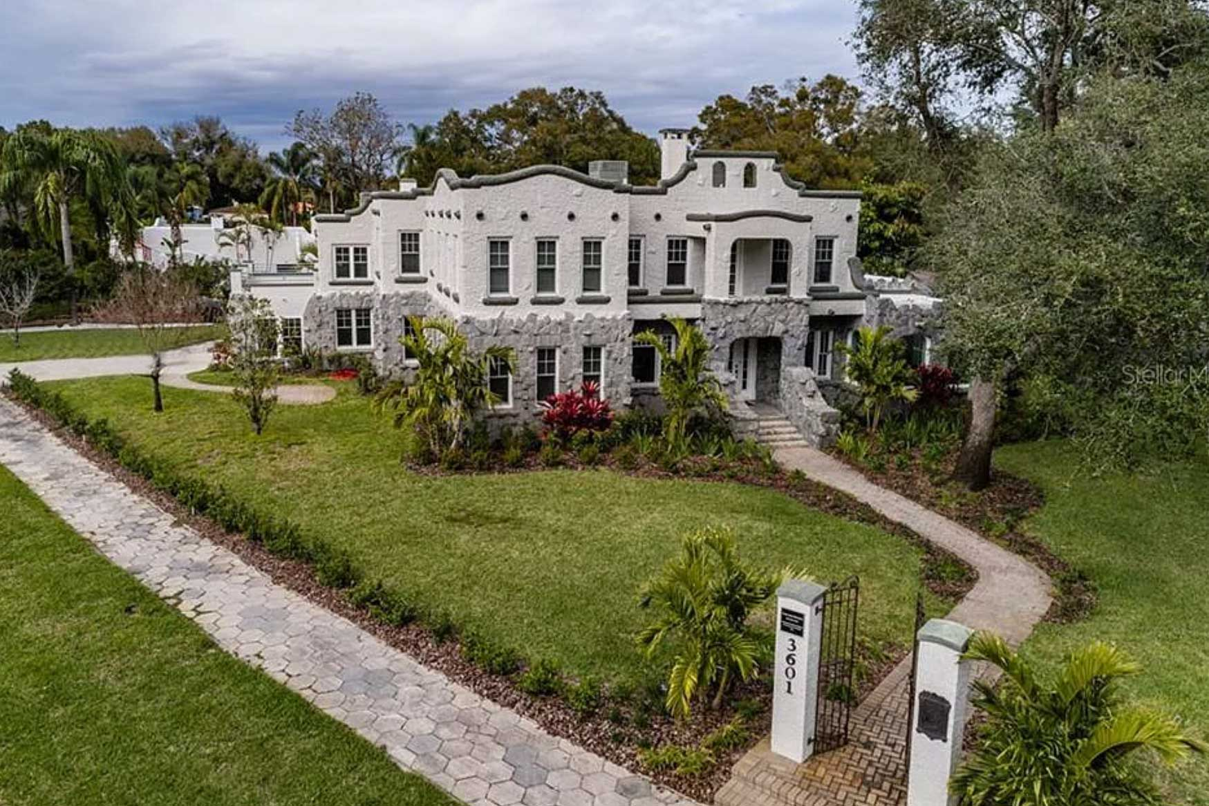 Historic homes in Central West Florida