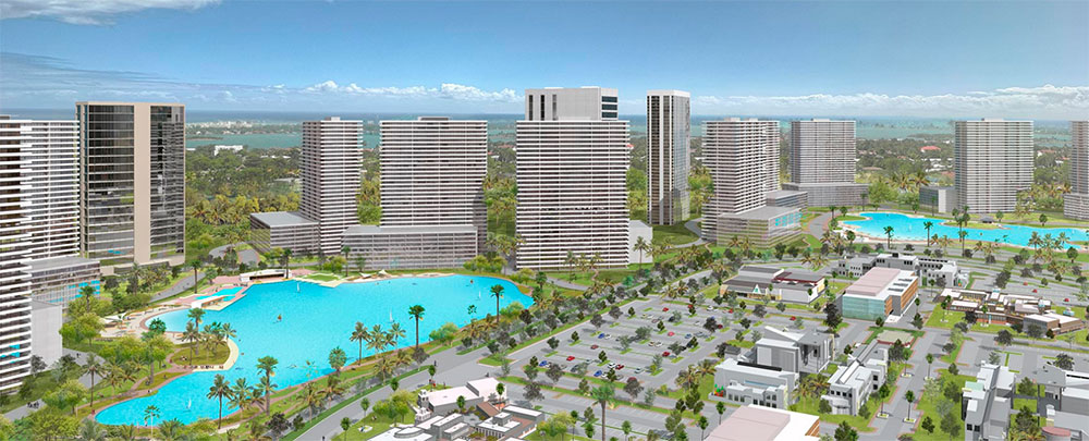 Crystal Lagoons® project in North Miami
