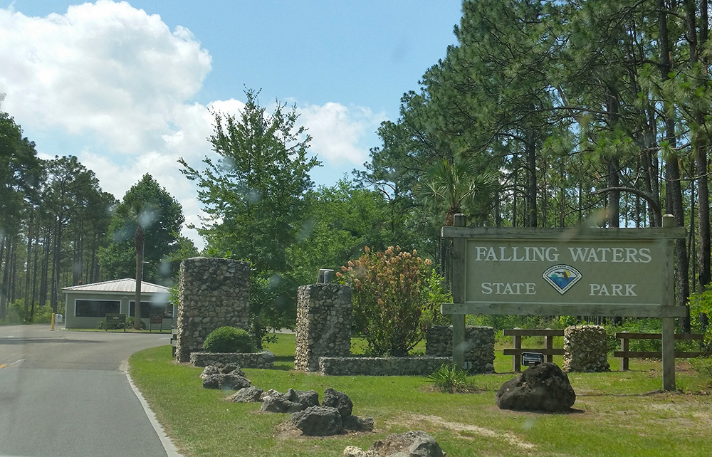 Falling Waters park entrance