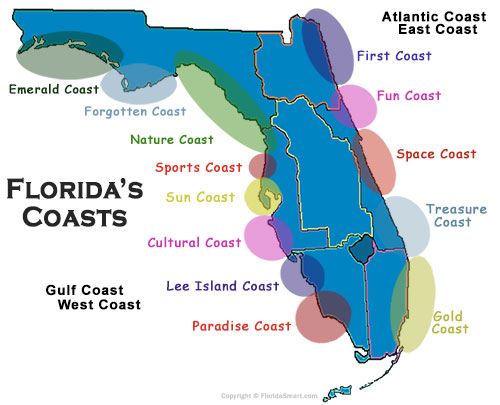 Florida Coasts