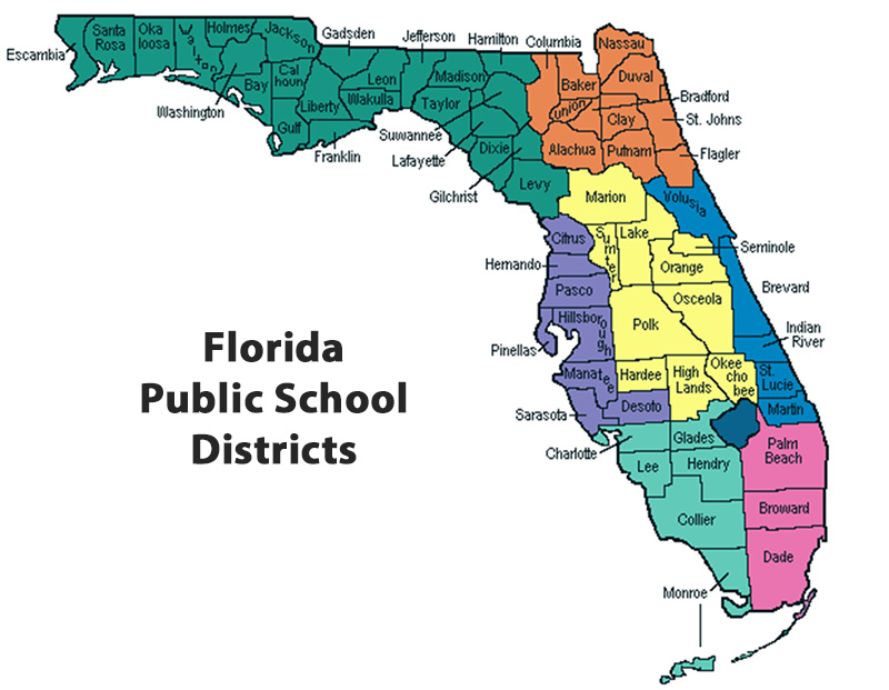 Florida Public School Districts