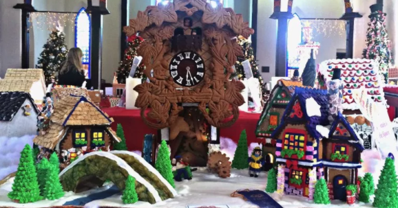 Gingerbread House Extravaganza