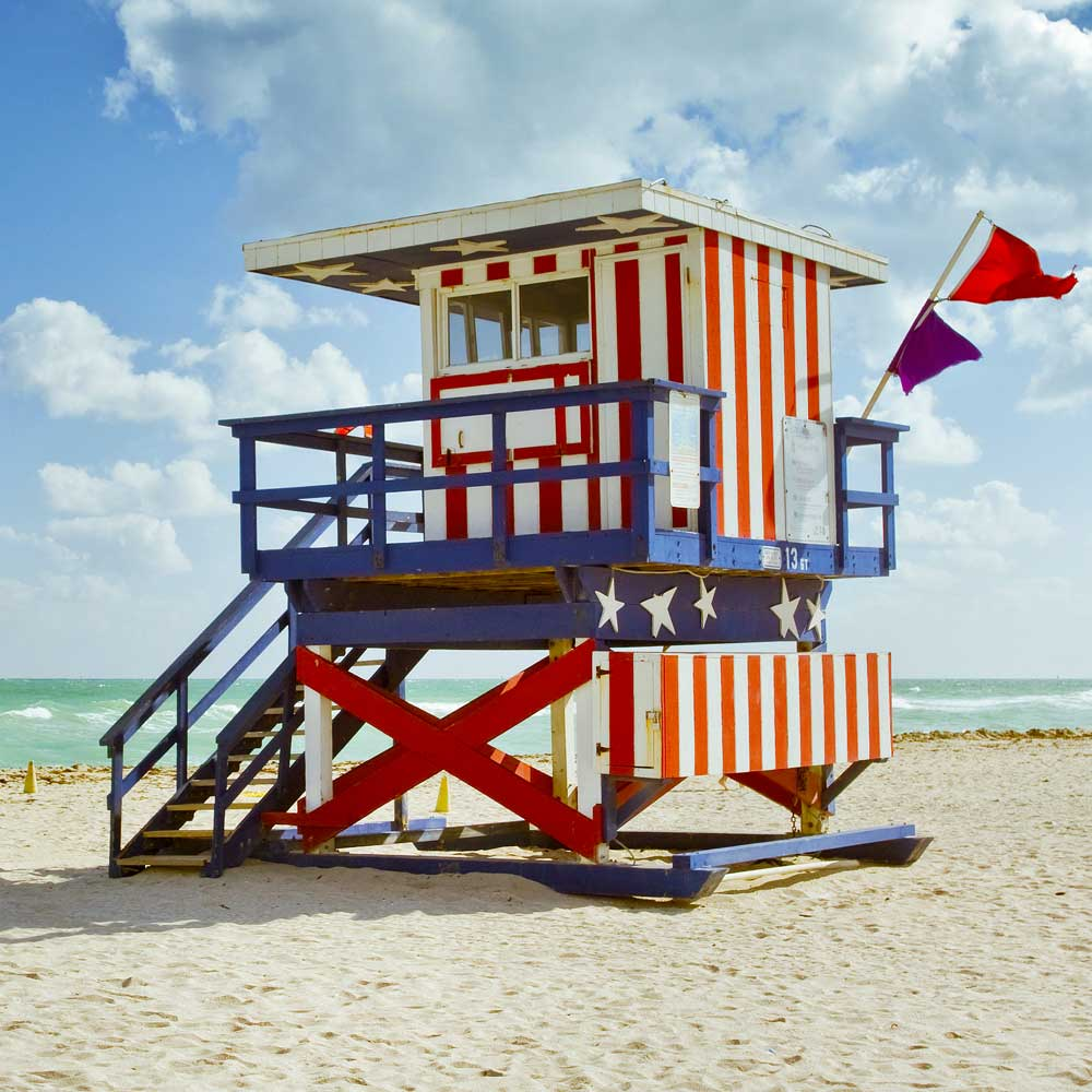 Miami Beach Lifeguard Auction