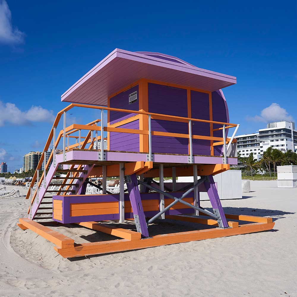 Lifeguard Tower South Beach