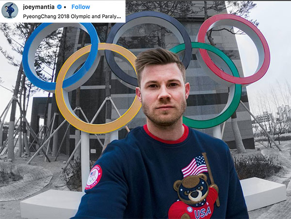 2018 Speedskater Winter Olympian - Joey Mantia