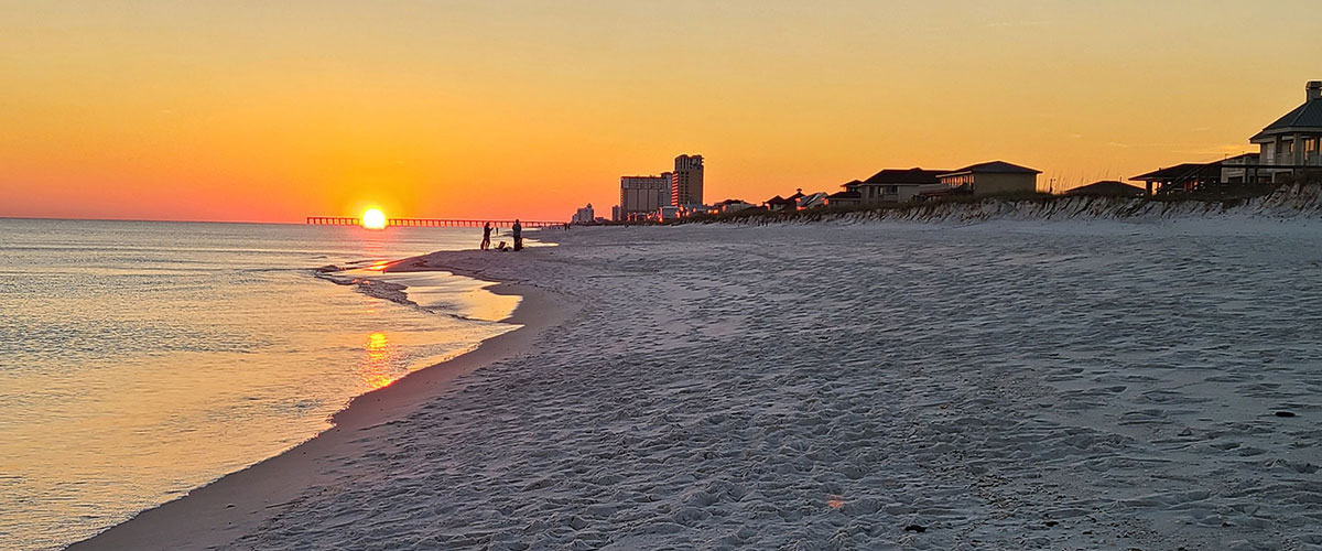 Sunset on Pensacola Beach