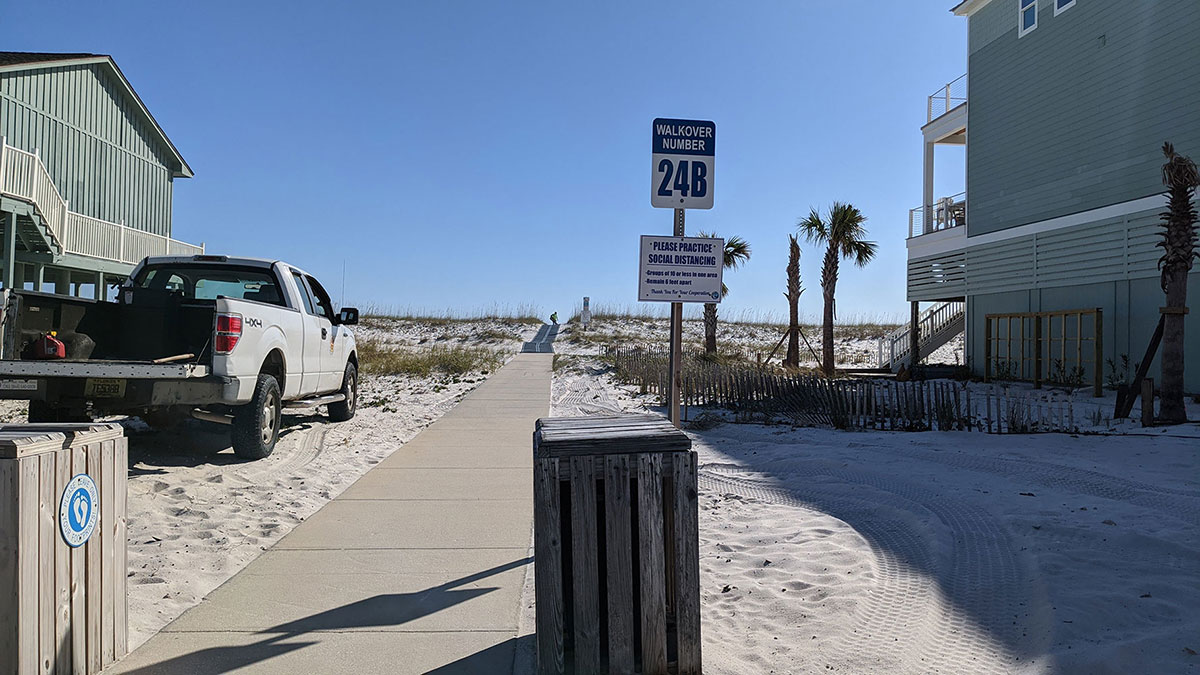 Pensacola Beach Access to the Beach