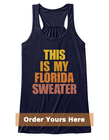 This is my Florida Sweater