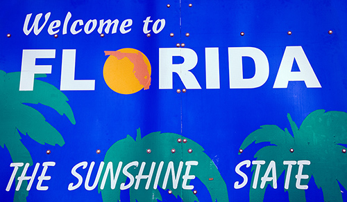 Florida Nickname - The Sunshine State