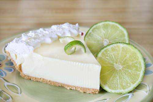 Florida State Pie: Key Lime