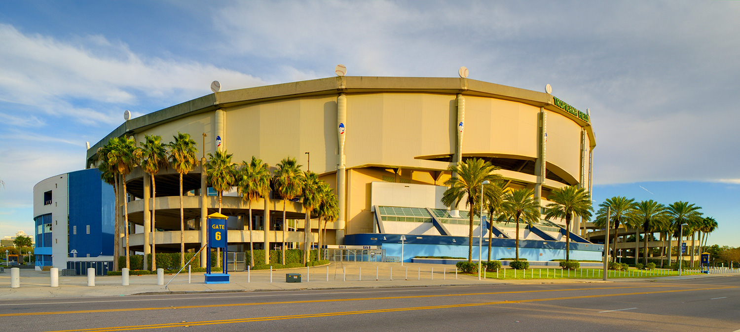 Tropicana Field - Tampa Bay Rays MLB