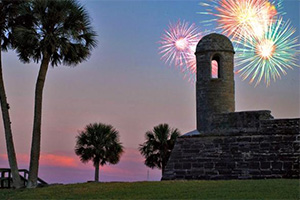 4th of July St. Augustine
