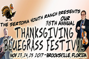 Thanksgiving Bluegrass Festival