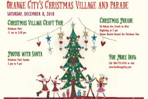 Christmas Light up, Village and Parade