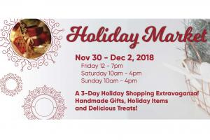 Holiday Market at the Visual Arts Center