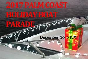 Palm Coast Yacht Club Annual Holiday Boat Parade