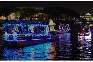 Tampa Riverwalk Parade of Lights