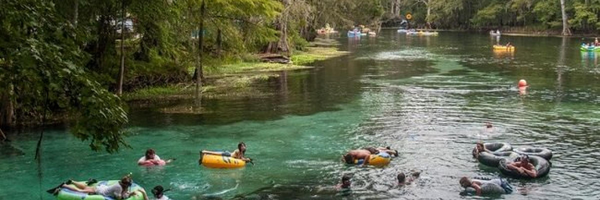 Tubing in Gilchrist County