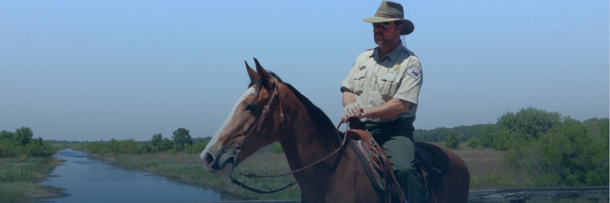 Park Ranger at Lake Kissimmee State Park