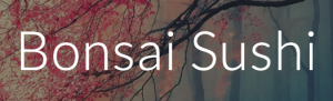Bonsai Sushi logo